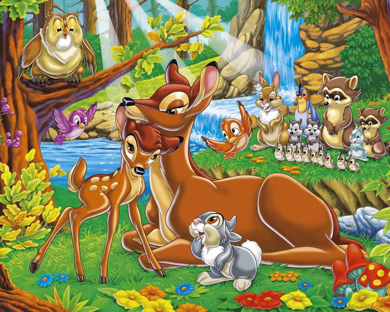 Картинки из мультиков животных